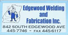 Edgewood Welding and Fabrication logo